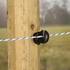 Rutland Electric Fencing Easy Drill Ring Insulator 20 Pack Chelford Farm Suppl