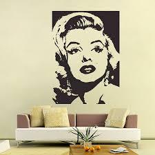 Marilyn Monroe Vinyl Wall Art Decal