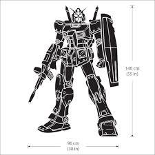 Gundam Robot Vinyl Wall Art Decal