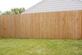 100 Cedar Dog Ear Fence Material List At Menards