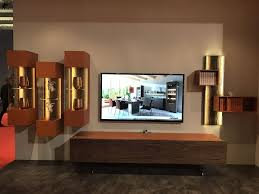 how high to mount the tv to blend looks