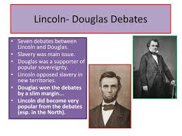 Image result for Lincoln win by opposing slavery