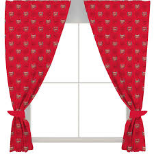 Arsenal Fc Football Club Crest 66 X54 Ready Made Curtains Set Boys Kids Bedroom For Sale Online