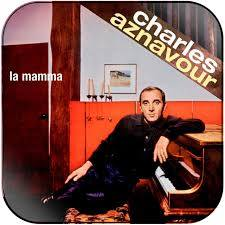 Charles Aznavour La Mamma Album Cover Sticker Album Cover Sticker