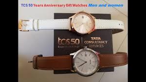tcs 50 years anniversary gift watches