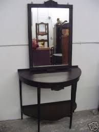 half round console table mirror nj