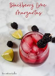 blackberry lime margaritas recipe by
