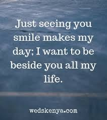your smile makes my day quotes poems in weds