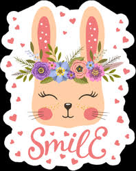 Bunny Rabbit Car Decals Cute Bunny Stickers Car Stickers
