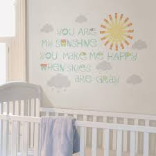 Wall Pops Multi Sunshine Wall Wish Wall Decal Dwpww2533 The Home Depot