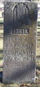 PARRIOTT, ABIGAIL - Butler County, Iowa | ABIGAIL PARRIOTT - Iowa  Gravestone Photos