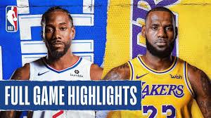Clippers vs. Lakers Game Recap ...