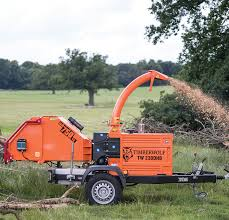 heavy duty wood chipping equipment from