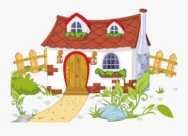 Transparent Fence Clipart House With Garden Clipart Free Transparent Clipart Clipartkey