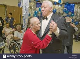 Grant Williams and Myrna Lee dancing Senior citizens dance and have Stock  Photo - Alamy