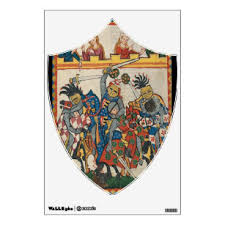 Medieval Wall Decals Stickers Zazzle