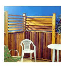 Flex Fence 4 Black Fence Louver Kit Home Hardware Ottawa