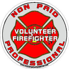 Volunteer Firefighter Non Paid Professional Decal At Sticker Shoppe