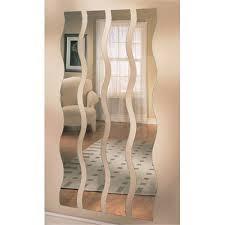 wave mirror strips home decor mirrors