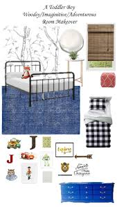 A Toddler Boy Woodsy Imaginative Adventurous Room Makeover The Plans Live Pretty On A Penny