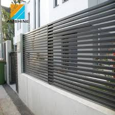 Aluminum Adjustable Aerofoil Blade Louver Fence For Sunshade View Blade Louver Fence Amshine Product Details From Su Zhou Amshine Building Material Co Ltd On Alibaba Com