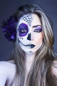 purple glam celebrate day of the dead