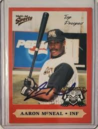 AARON MCNEAL Autographed 2000 Midwest League Top Prospect Baseball Card  ASTROS | eBay