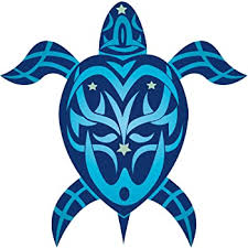 Amazon Com Tribal Honu Turtle Hawaiian Art Decal Car Window Bumper Sticker Automotive