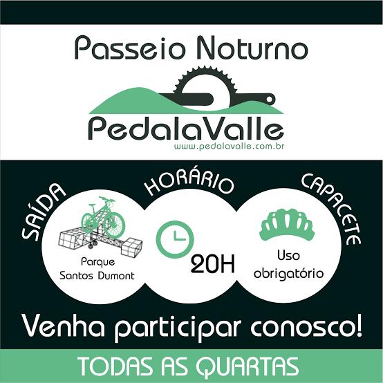 """Resultado de imagem para PASSEIO NOTURNO PEDALAVALLE"""""""