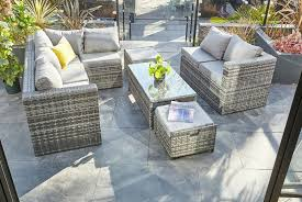polyrattan 9 seater garden furniture