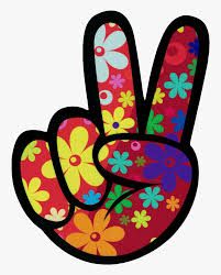 Right Hand Peace Fingers - Peace Fingers Clipart Free, HD Png Download -  kindpng