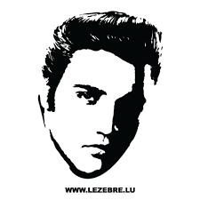 Elvis Presley Sticker 2
