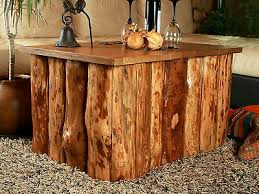 cottage style storage coffee table