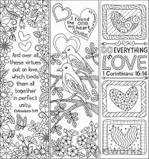 Set Van 8 Kleuren Bladwijzers Met Liefde Bijbel Verzen Marker
