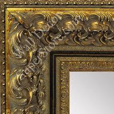 ornate baroque antique gold black