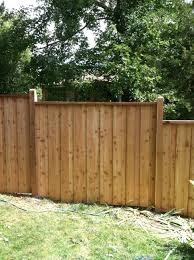 Wood Privacy Fences Backyard Fences Diy Privacy Fence Fence Design