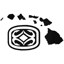 Maui Built Logo 2 Vinyl Decal Sticker