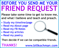 do you vet potential friends bill s bible basics