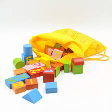 Bộ đồ chơi xếp hình khối gỗ toán học và tranh giấy xếp hình cho bé