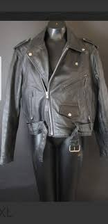 vintage fmc leather motorcycle riding