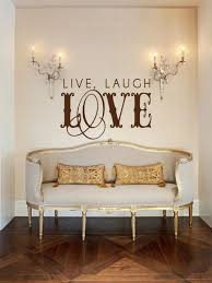 Live Laugh Love Vintage Wall Decal Michigan Decals Michigan Apparel Michigan Clothing