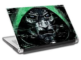 Villain Personalized Laptop Skin Vinyl Decal L698 Decalz Co