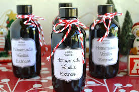 gifts from the kitchen homemade vanilla