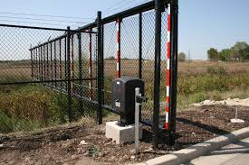 Sliding Fortress Structural Cantilever Security Gate