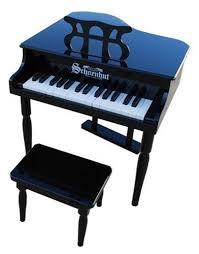 schoenhut clic baby grand piano
