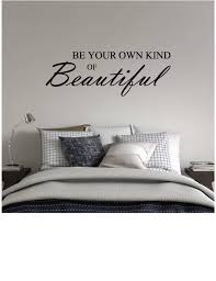 Be Your Own Kind Of Beautiful Wall Decal Whimsidecals