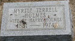 Myrtle Terrell Holmes (1881-1974) - Find A Grave Memorial
