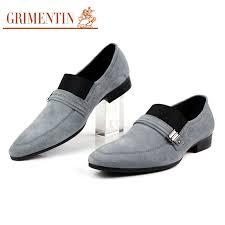 grey men s dress shoes for wedding