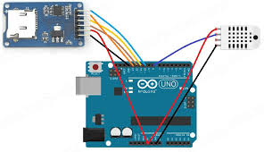 data logger with sd card using arduino