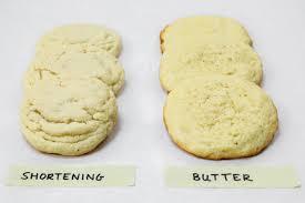 shortening vs er in baking king